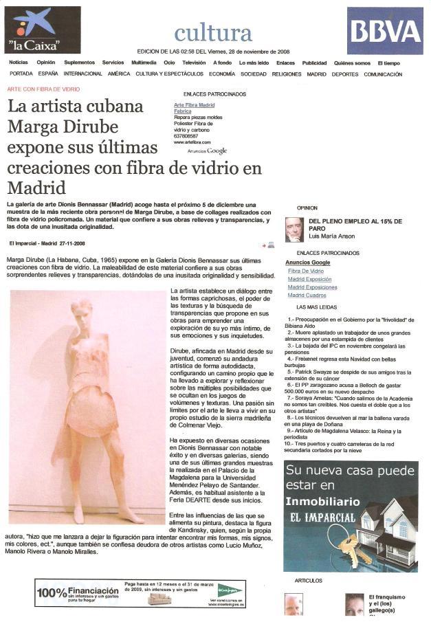 Diario Digital El Imparcial 27 de noviembre 2008