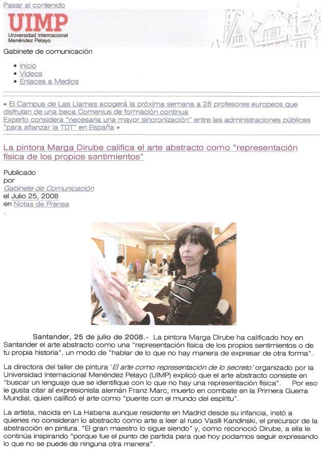 Gabinete de comunicación UIMP/Julio 2008/Taller de Pintura/(pag.3)